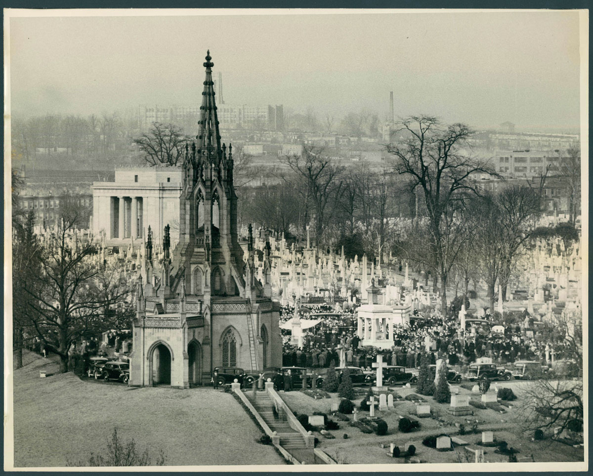From the Vault: Green Mount cemetery