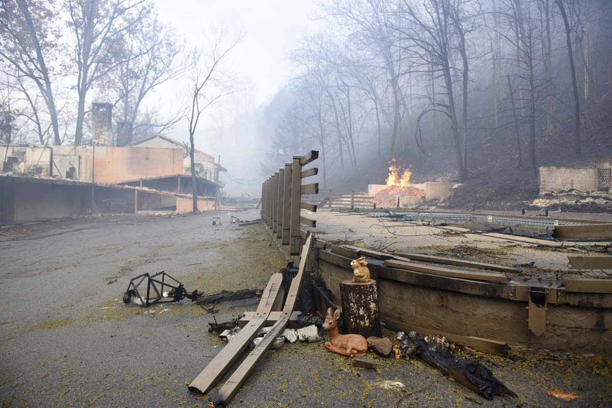 Gatlinburg Evacuated After Great Smoky Mountains National