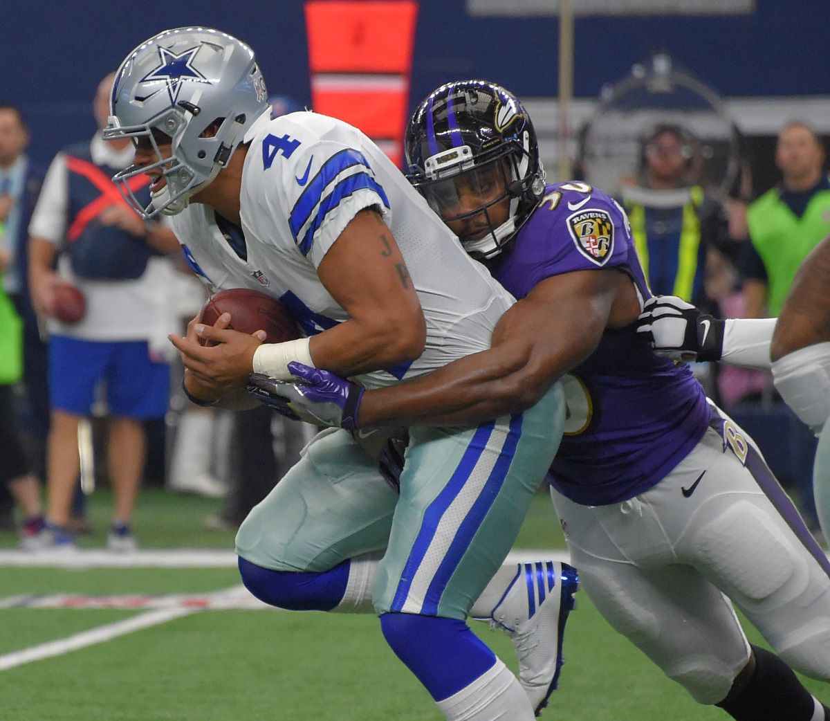 Rough Cut: Ravens lose to the Cowboys 27-17