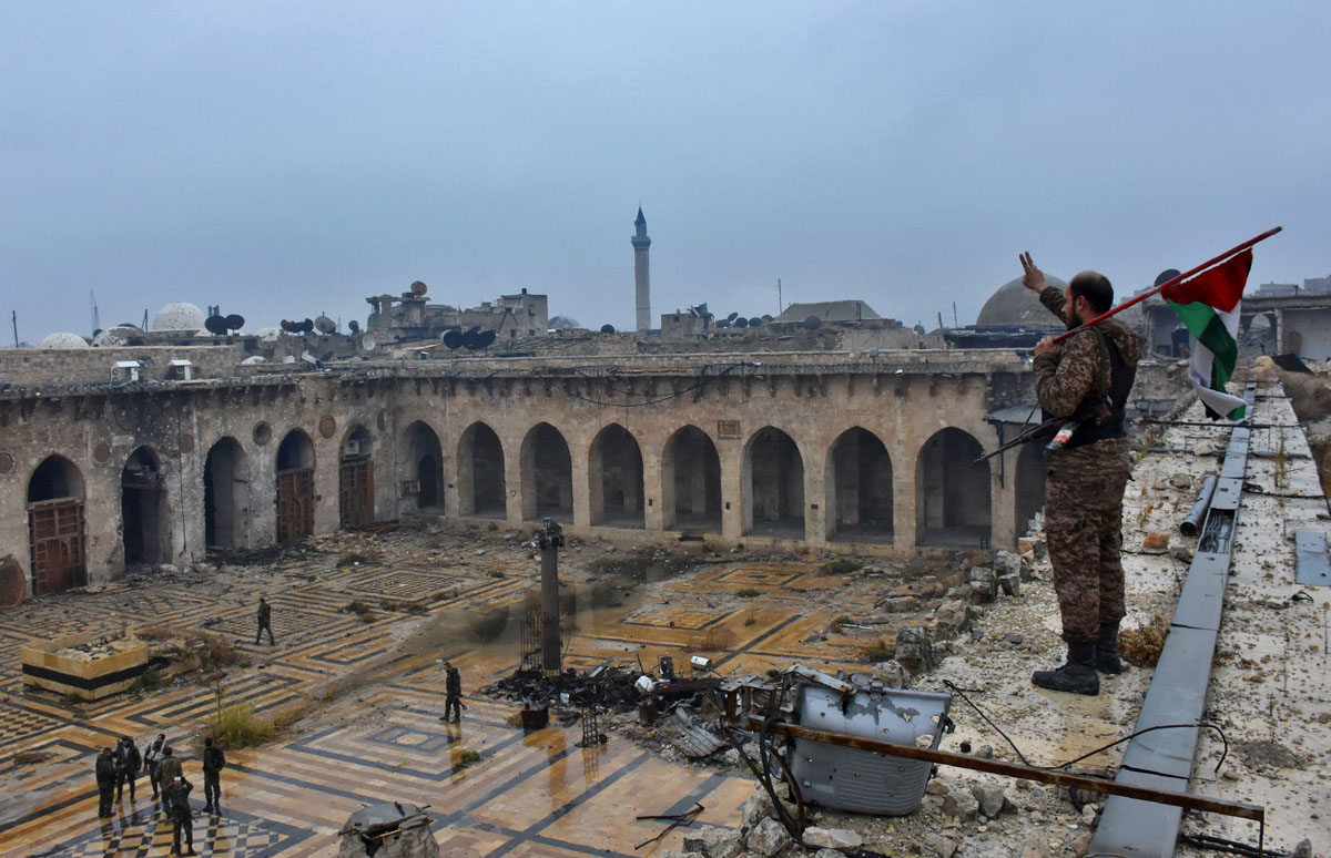 Aleppo falls to Syrian forces