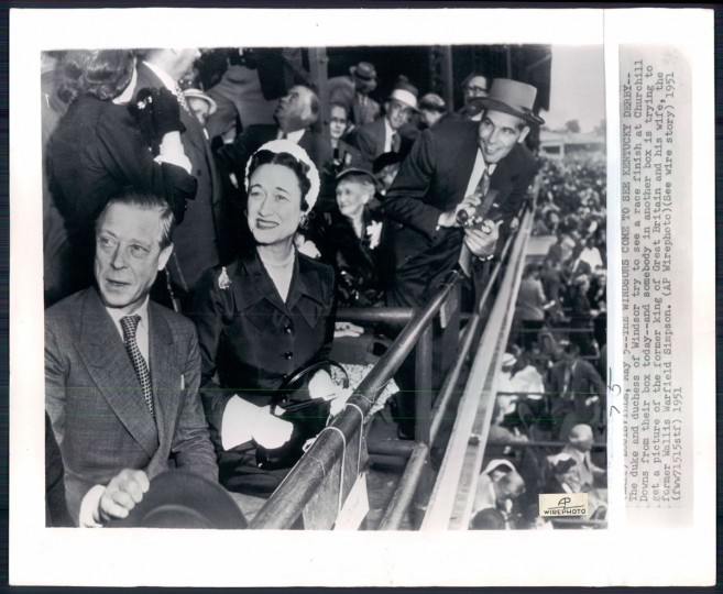 The Duke and Duchess of Windsor in photo dated 1951.