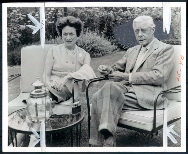 Duke and Duchess of Windsor in photo dated 1972.