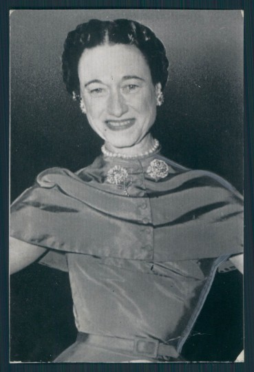 Wallis Simpson in photo dated 1957.