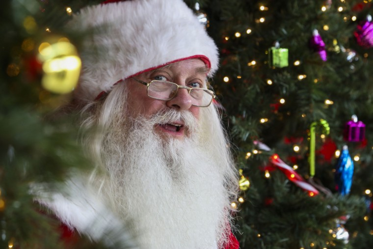 Santa Claus makes an appearance at Harborplace in 2015. (Kaitlin Newman/Baltimore Sun)