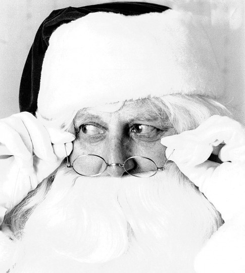 Al Verpault as Santa in 1986. (Baltimore Sun)