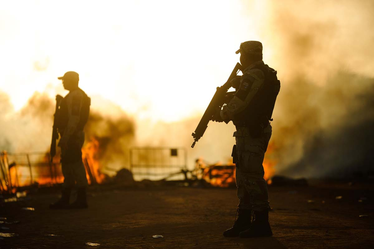 Riots at Brazil's Alcacuz Penitentiary Center