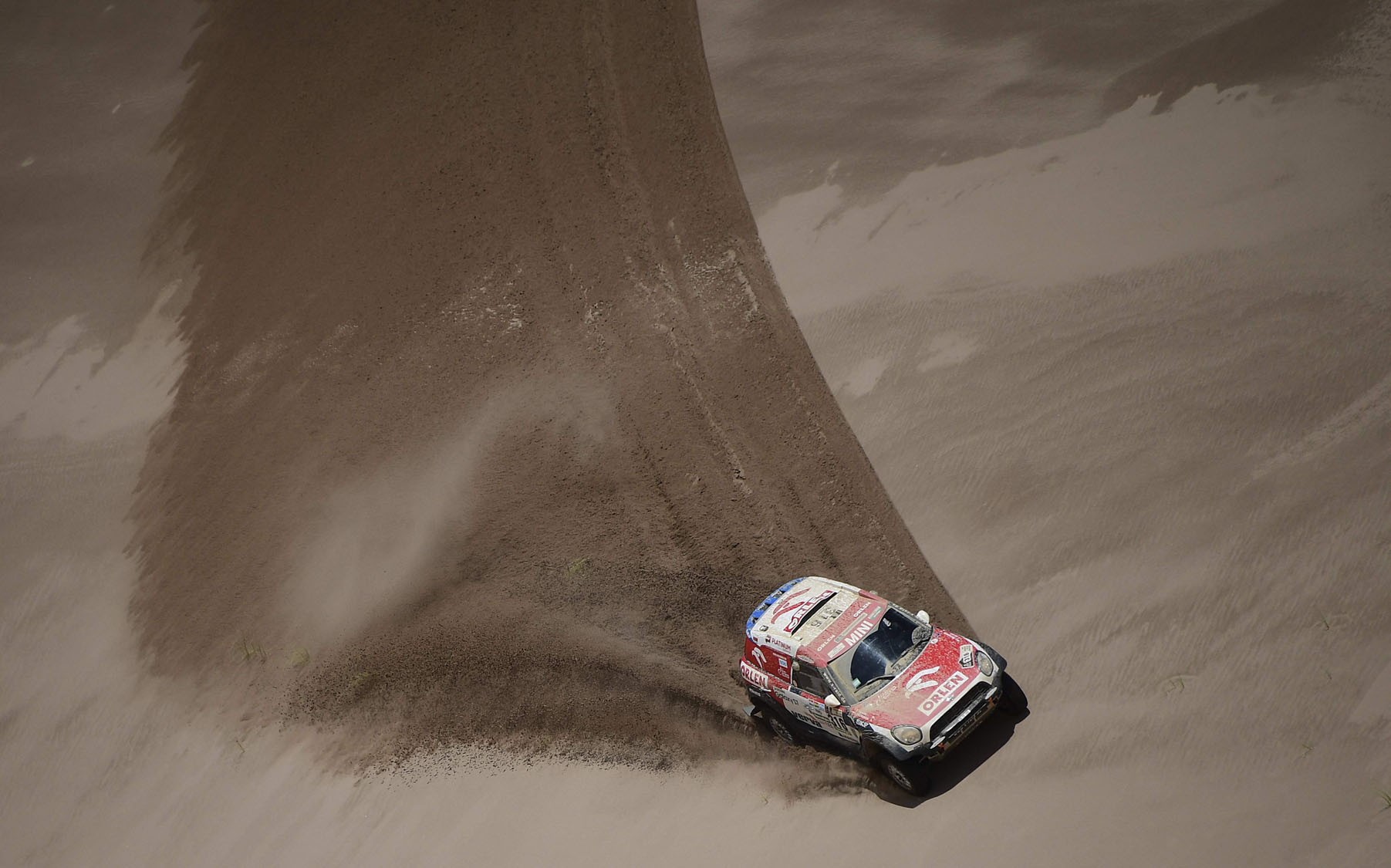 Annual Dakar Rally in South America