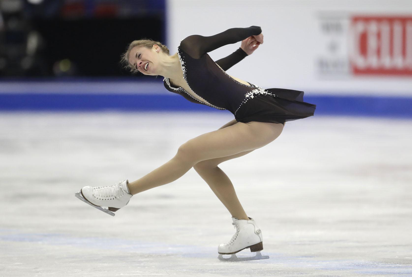 nude skating
