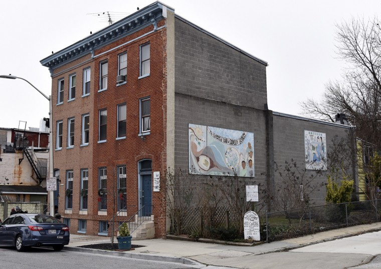 This is Viva House, a West Baltimore soup kitchen that was founded 49 years ago by Catholic Worker husband and wife team Brendan Walsh and Willa Bickham. (Barbara Haddock Taylor/Baltimore Sun)