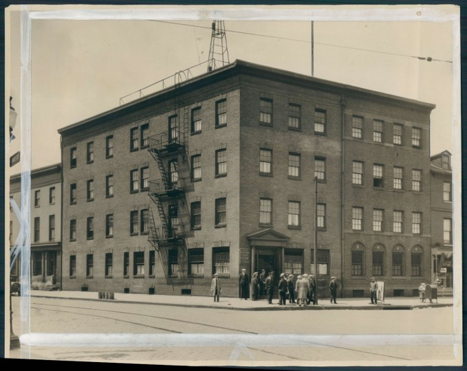 The Anchorage Hotel was a refuge in Fells Point for sailors from around the world. Photo dated 1929, the year the YMCA took over the hotel. (Baltimore Sun)