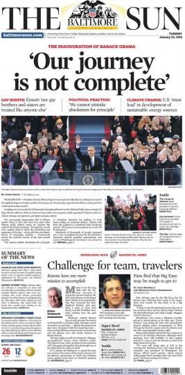 Barack Obama. Jan. 22, 2013.