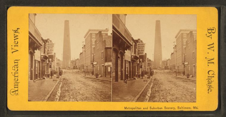 Shot tower. (Image via New York Public Library, Miriam and Ira D. Wallach Division of Arts, Prints and Photographs: Photography Collection)