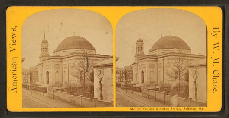 Unitarian Cathedral. (Image via New York Public Library, Miriam and Ira D. Wallach Division of Arts, Prints and Photographs: Photography Collection)