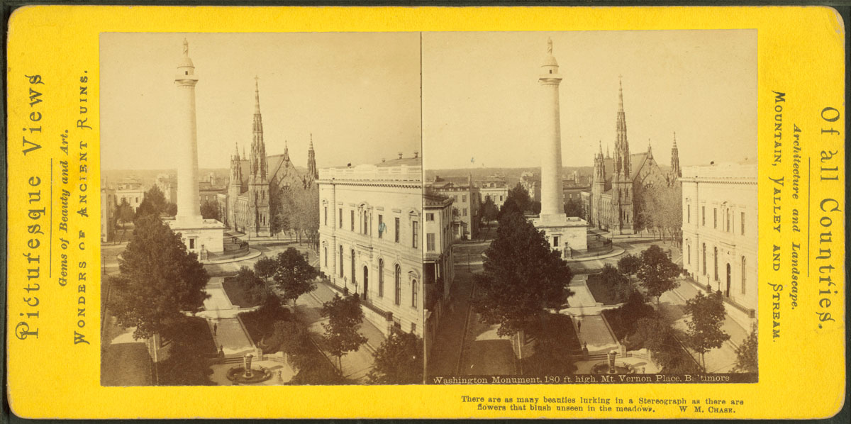 Baltimore, twice: Stereoscopic views from the NYPL