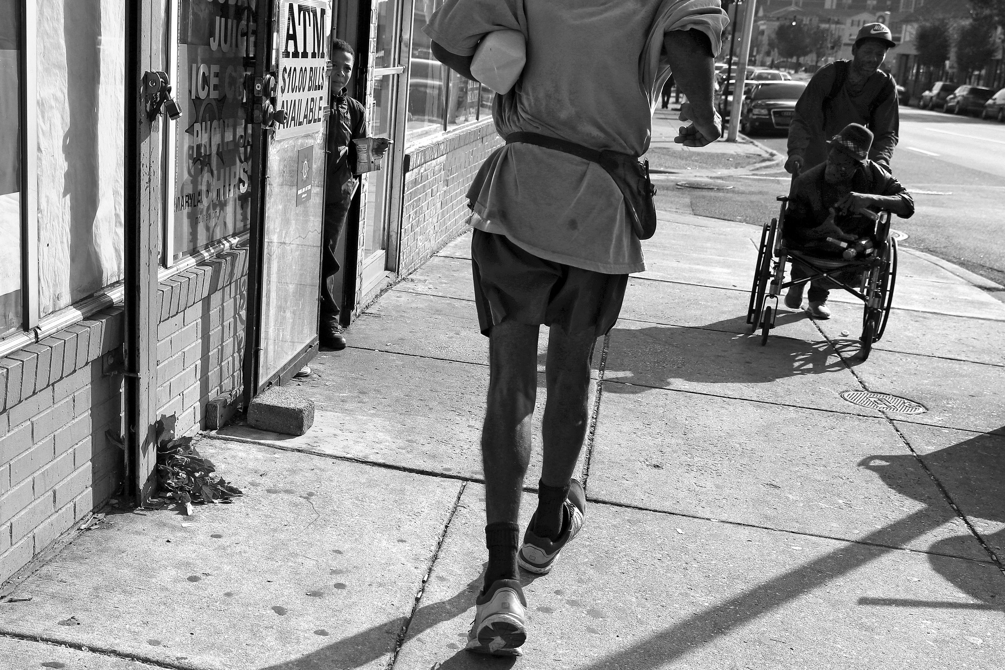 the running man essay A man running in a park in chicago jogging of two-year-old boy running is the way in which people or animals travel quickly on their feet.