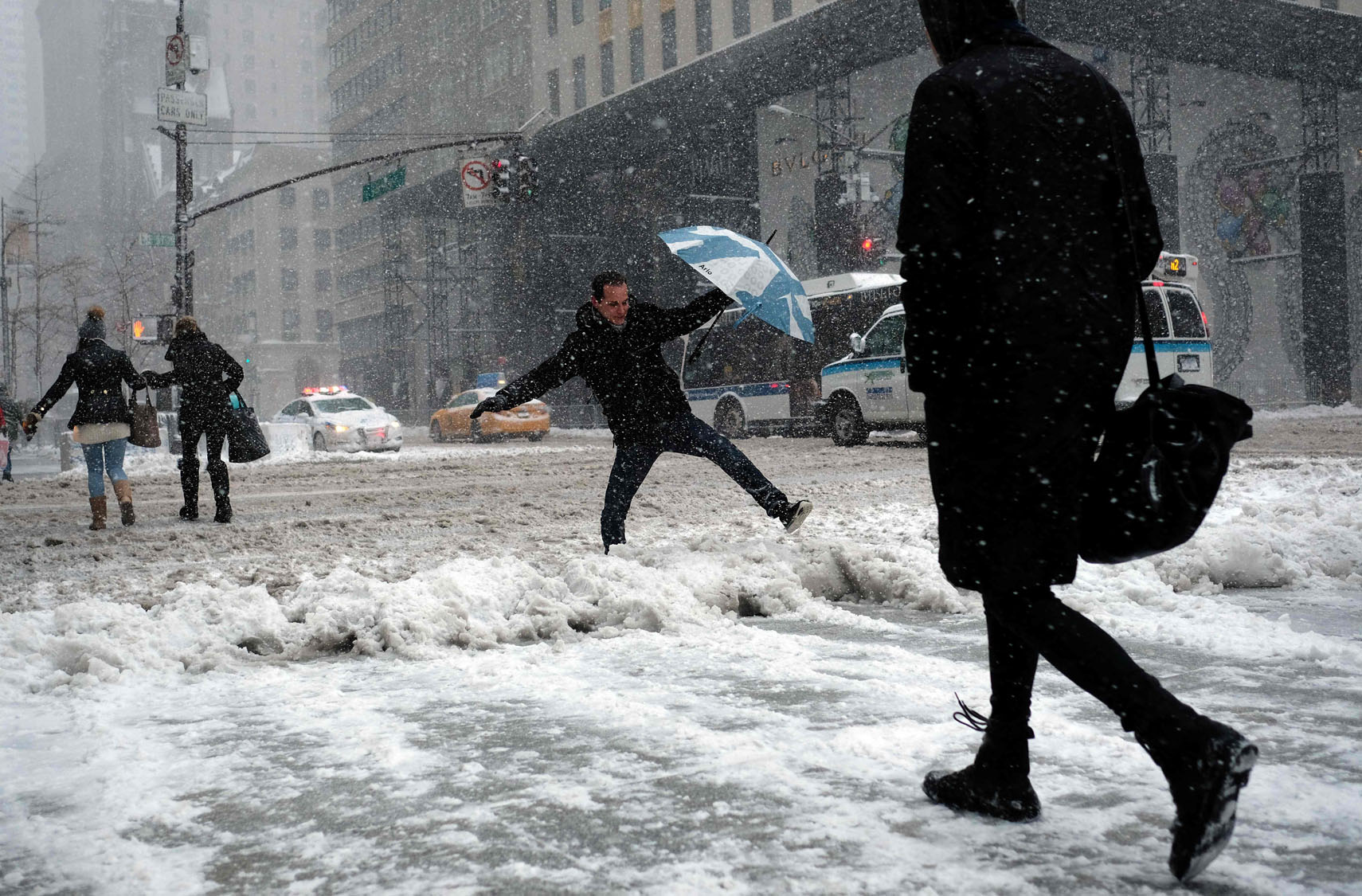Heavy Snow Hits The Northeast North East United States Weather Map