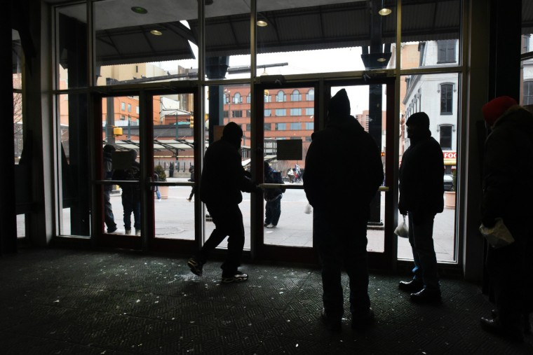 Lexington Market has been a gathering place and institution for shoppers for more than two centuries, but in recent years, crime, drugs and vagrancy have plagued the downtown district outside the market, tarnishing Lexington Market's image. (Amy Davis/Baltimore Sun)