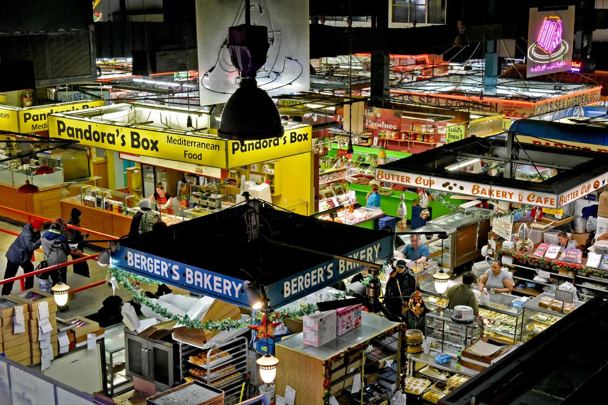 Lexington market america s oldest public market for Fish store baltimore