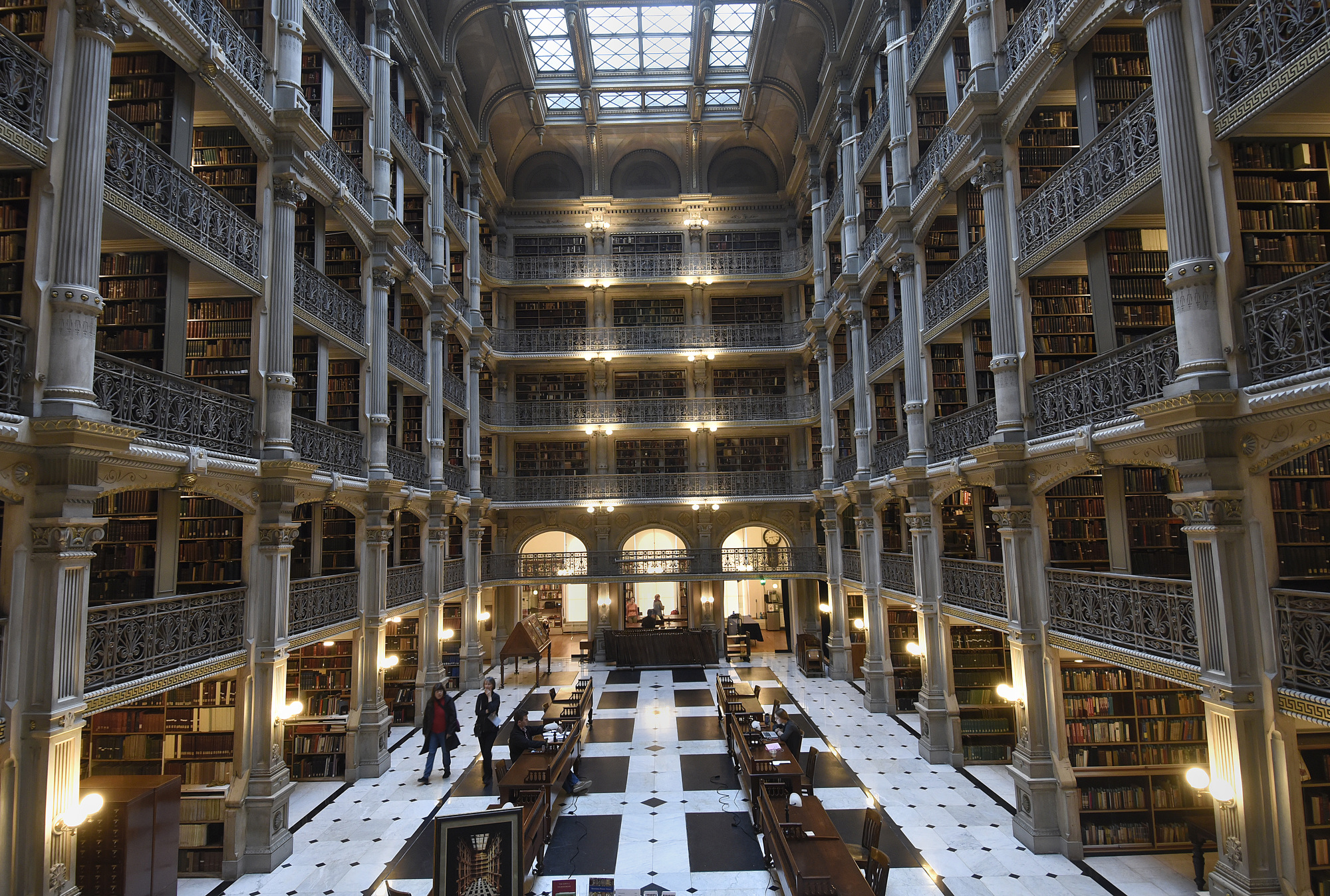 The George Peabody Library, a literary and architectural treasure