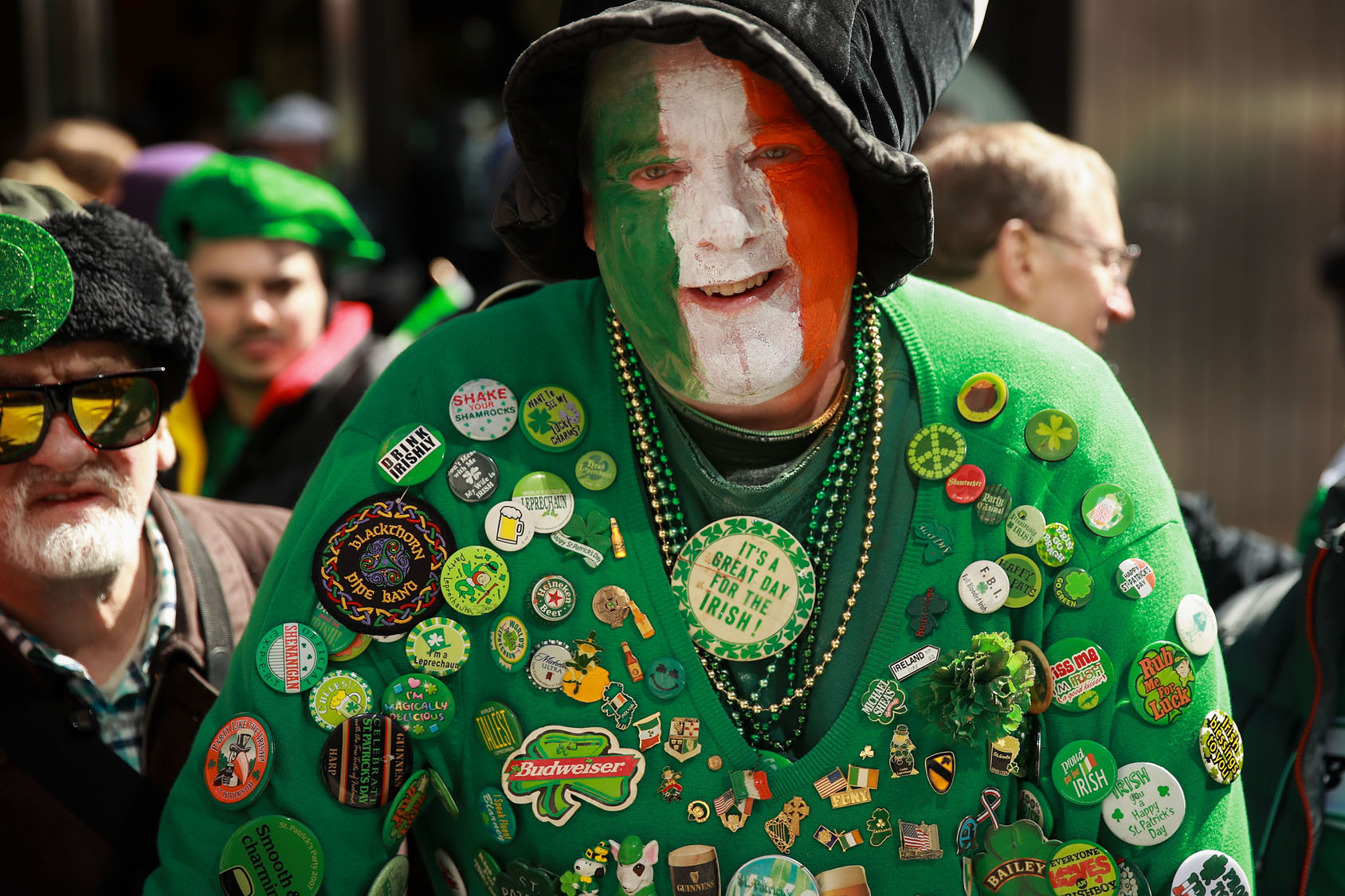 Annual St. Patrick's Day parade in New York