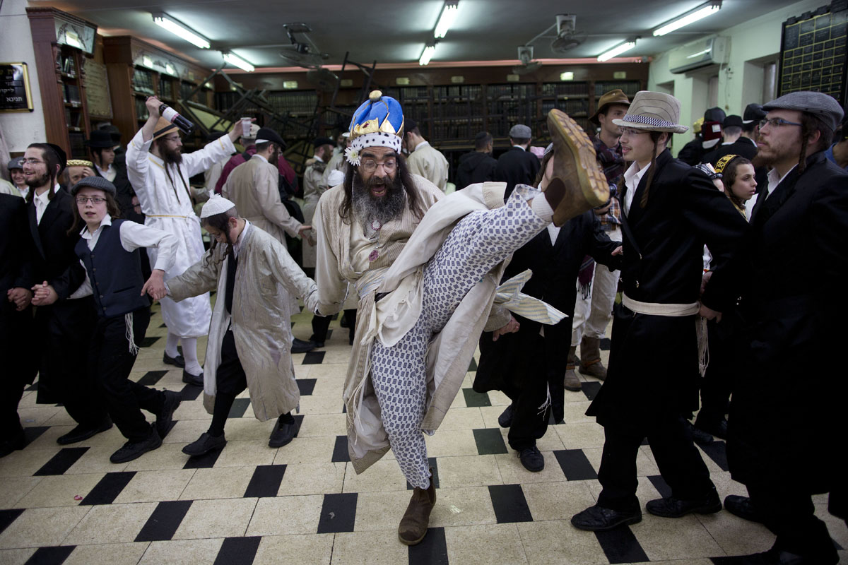 Purim holiday in Jerusalem