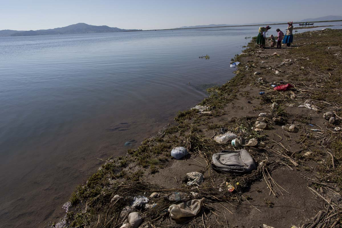 In Peru, a polluted Lake Titicaca