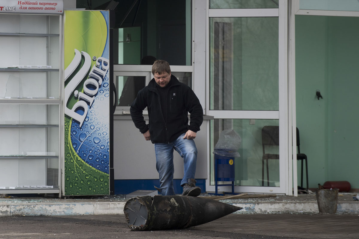 20,000 evacuated after Ukraine military ammunitions depot catches fire