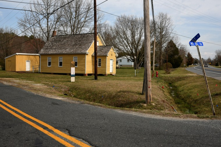 The Stanley Institute, a 19th century one-room school house, was moved to this location on Rte. 16 in 1867. It was used continually to education African-American students until 1966.  (Amy Davis/Baltimore Sun)