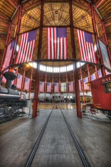 Roundhouse at B&O Railroad Museum. (Photo courtesy of Doug Ebbert)