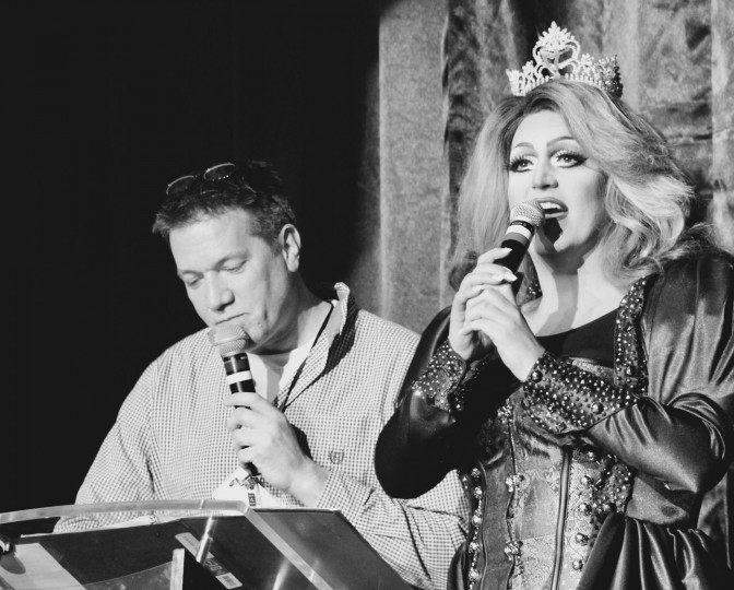 Tom Marston (one of the Miss MD Promoters) and Rebecca Blaqueout. (Michael J. Palmisano with Palmisano Productions)