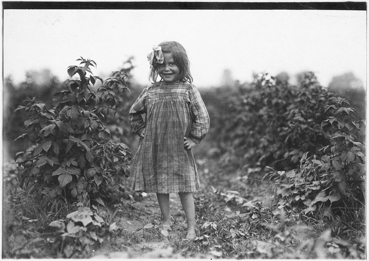 Lewis Hine's photos of child labor in Maryland and beyond
