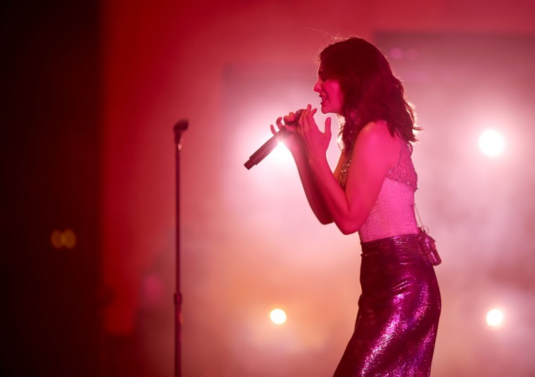 Singer Lorde performs on the Coachella Stage during day 3 of the Coachella Valley Music And Arts Festival (Weekend 1) at the Empire Polo Club on April 16, 2017 in Indio, California. (Photo by Christopher Polk/Getty Images for Coachella)