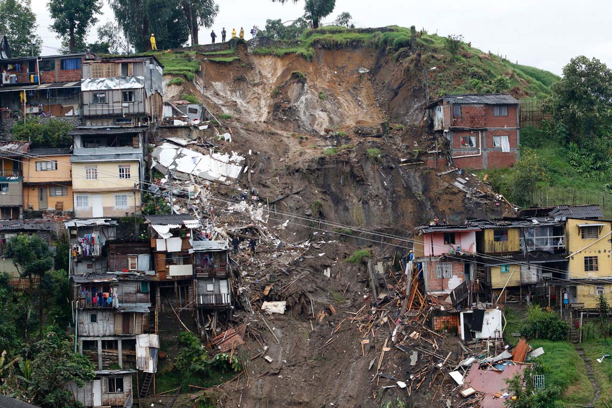 Colombia slowly recovering from flooding, mudslides