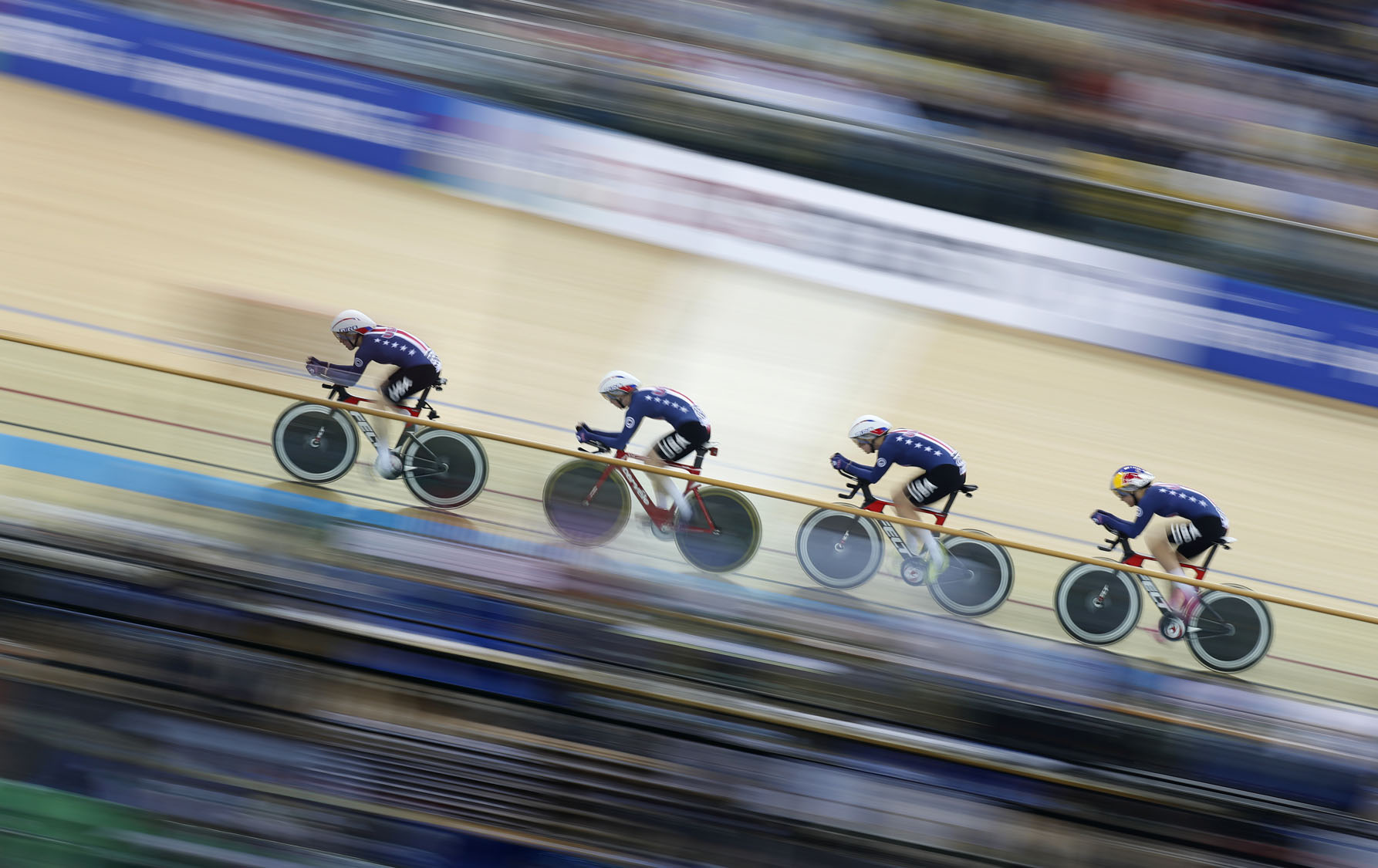 World Track Cycling championships in Hong Kong