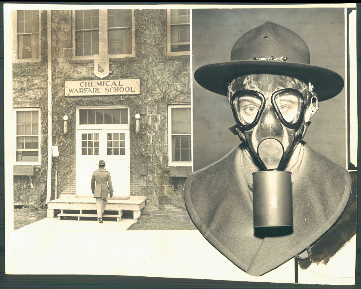 Chemical weapons testing at Edgewood Arsenal through the years