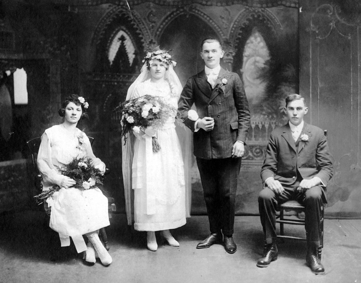 Something borrowed, something blue: Baltimore County weddings from the past