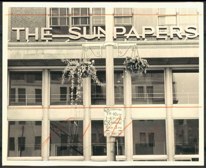 The Sun building, undated photo