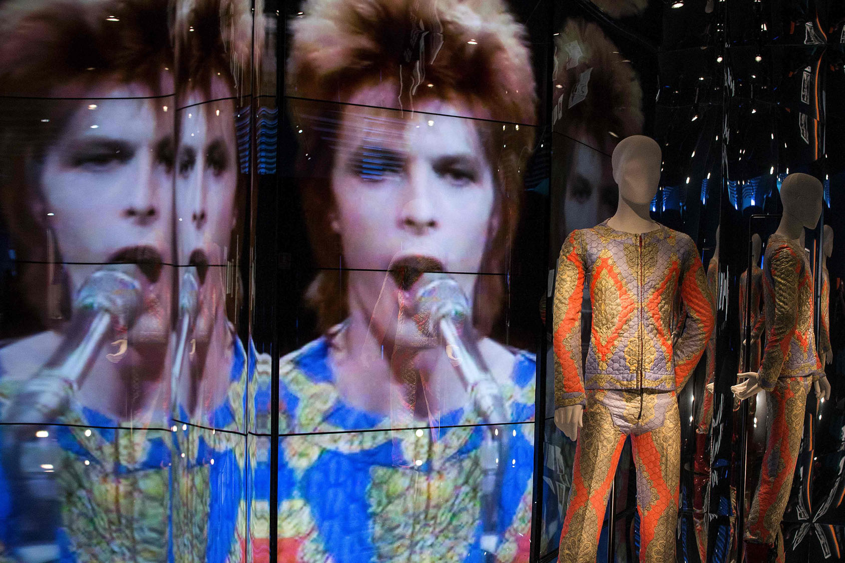 'David Bowie Is' exhibit in Barcelona