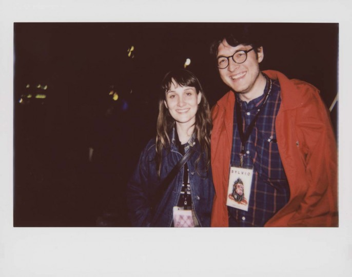 "Marnie Ellen Hertzler, director of short ""Growing Girl"" and Albert Birney, co-director of feature ""Sylvio."""