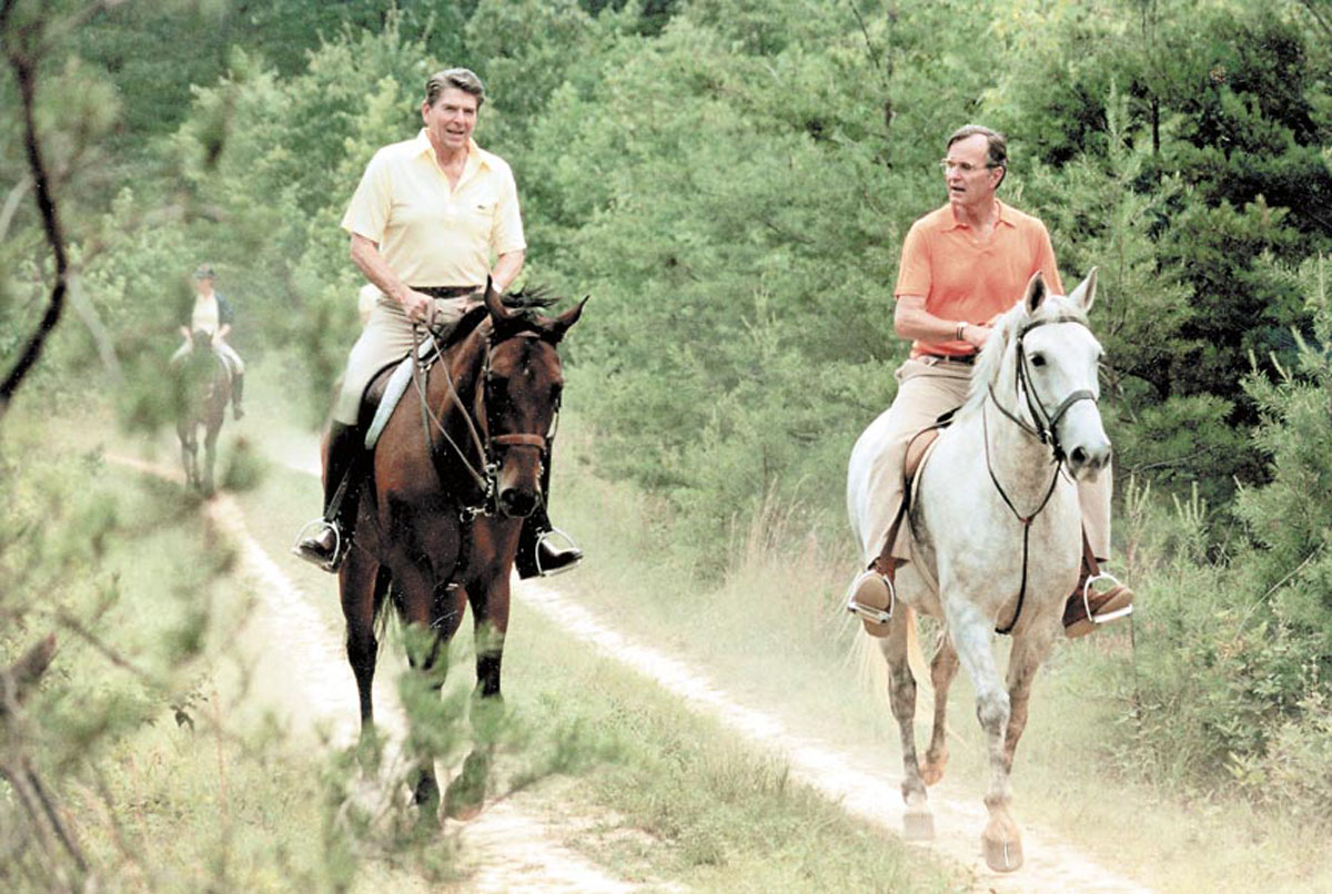 From the vault: Camp David, Maryland's presidential retreat