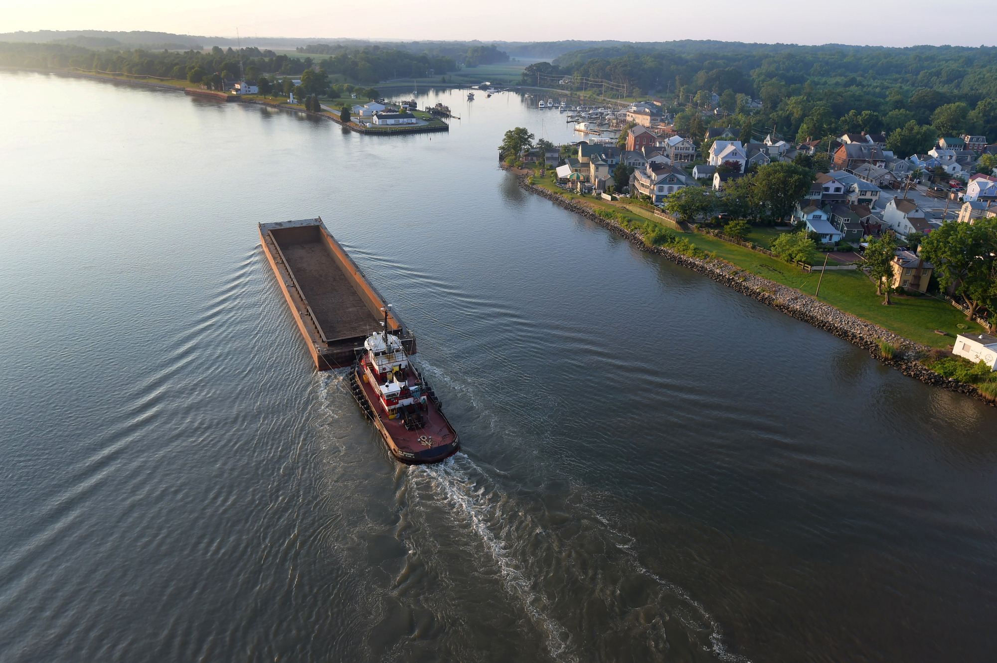 Exploring historic Chesapeake City