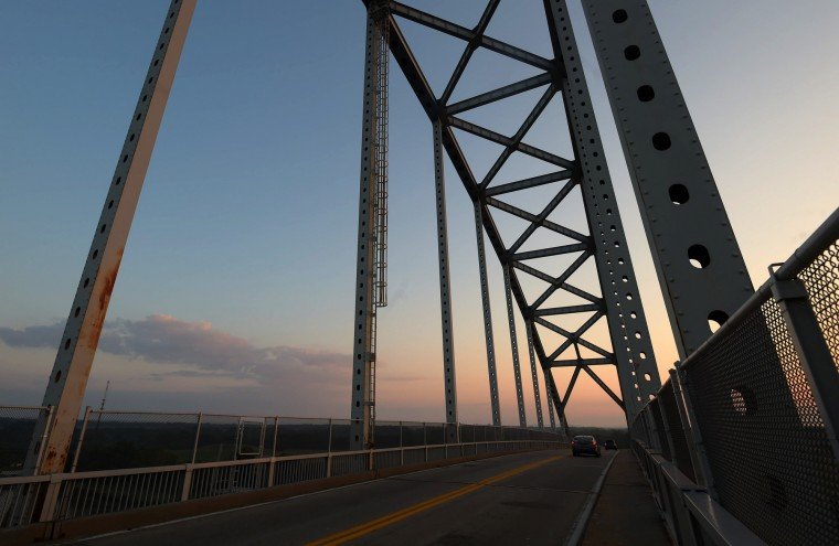 The current Chesapeake City bridge was completed in 1949. (Algerina Perna/Baltimore Sun)
