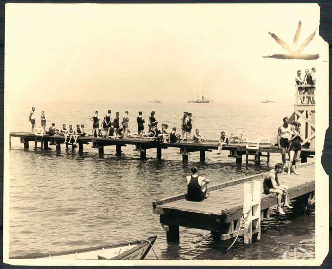 Bay Shore Park, photo dated June 24, 1928. (Baltimore Sun archives)