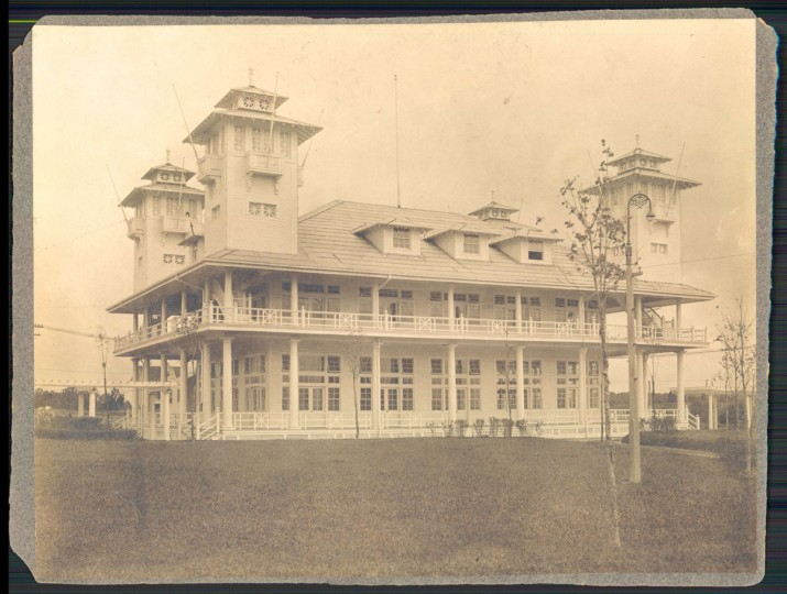 Undated photo of old Bay Shore park. (Baltimore Sun archives)