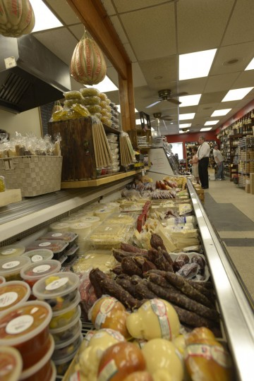 DiPasquale's, an Italian grocer on Gough Street, has been open since 1914. (Christina Tkacik/Baltimore Sun)