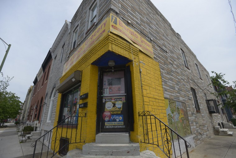 Many of the corner shops in Highlandtown are now run by members of the area's growing Latino community. (Christina Tkacik/Baltimore Sun)