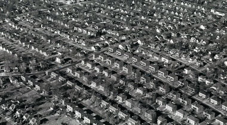 Development King's Ridge near Old Harford and Taylor in 1956,  (Richard Stacks/Baltimore Sun)
