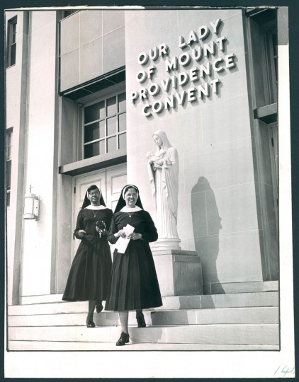Members of the Oblate Sisters of Providence in May, 1968. (Baltimore Sun archives)