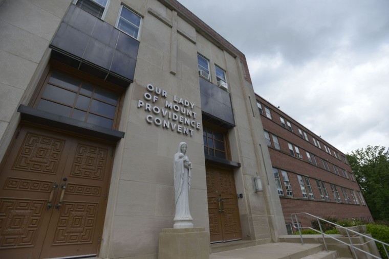 The Oblate Sisters of Providence moved to this building in Catonsville, Maryland in the 1960s. They're still based here today. (Christina Tkacik/Baltimore Sun)