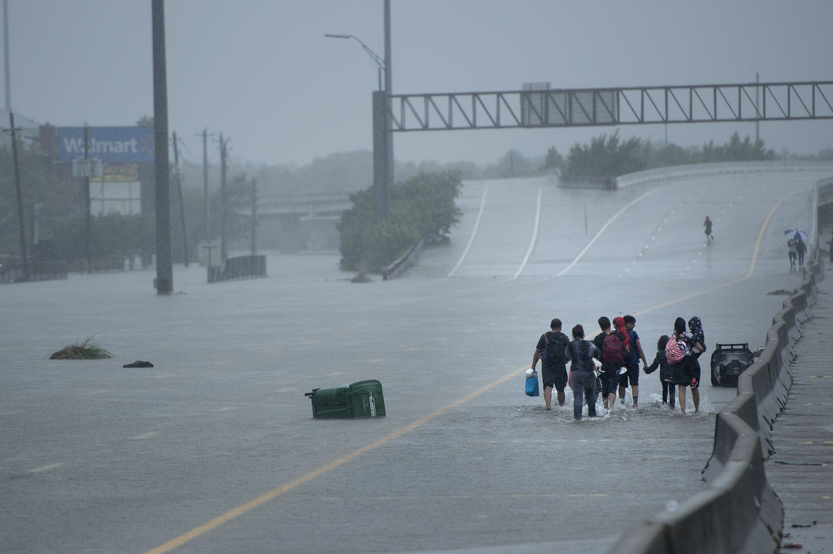 Harvey sends devastating floods pouring into Houston